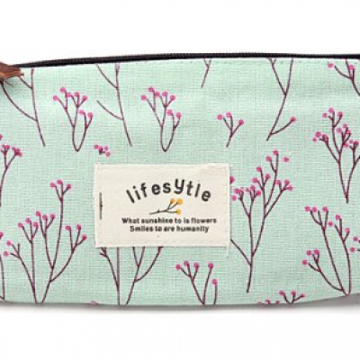 Countryside Floral Cosmetic Bag Just $2.05 + Free Shipping
