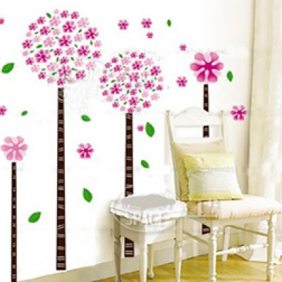 Dandelion Tree Vinyl Wall Art - Just $4.99 + Free Shipping