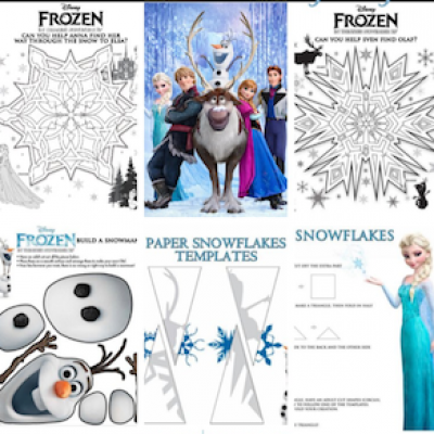 Free Disney FROZEN Printable Activities & Coloring Pages