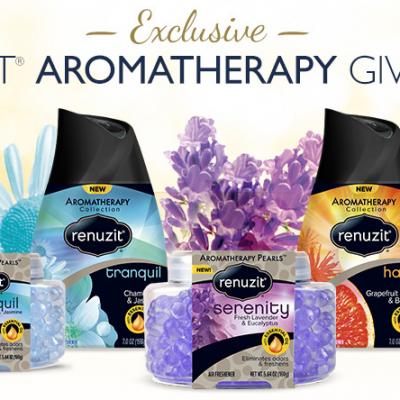 Renuzit Aromatherapy Giveaway