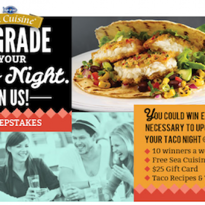 Sea Cuisine: Upgrade Your Taco Night Sweepstakes