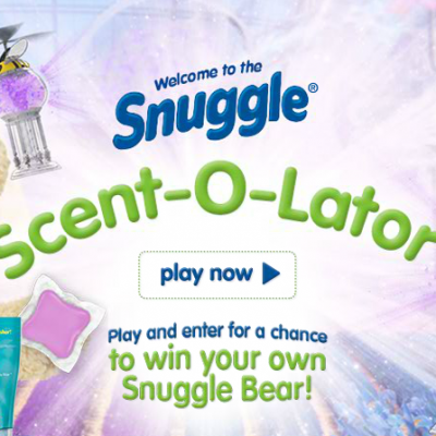 Snuggle Scent-O-Lator: Win Your Own Snuggles Bear
