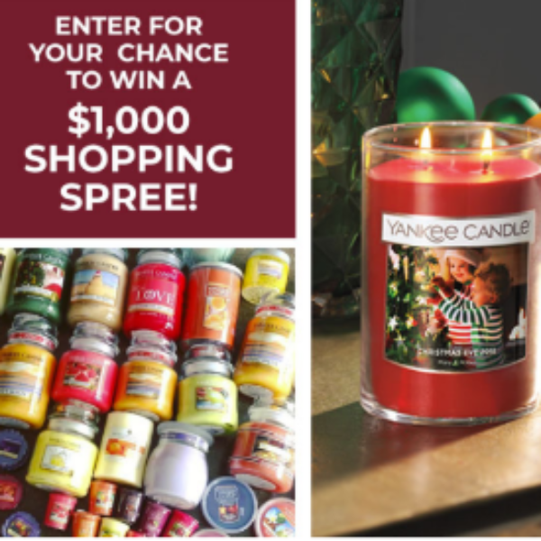 Win a $1K Yankee Candle Shopping Spree