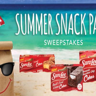 Sara Lee: Summer Snack Pack Sweepstakes