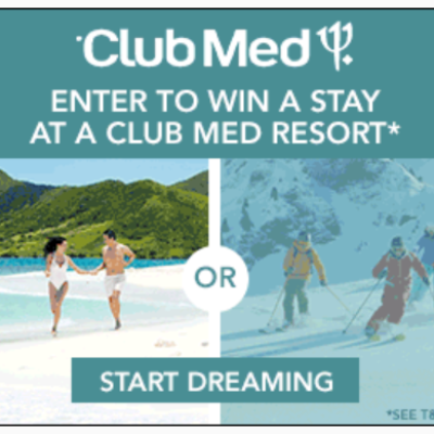 Club Med: Dream Vacation Sweepstakes
