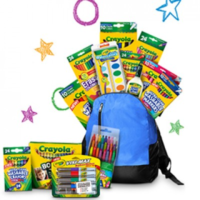 Win a Crayola #BackWithTheBest Prize Pack