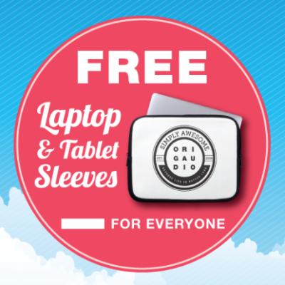 Free Laptop or Tablet Sleeve
