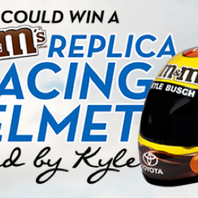 M&M's: Autographed Nascar Racing Helmet Sweepstakes