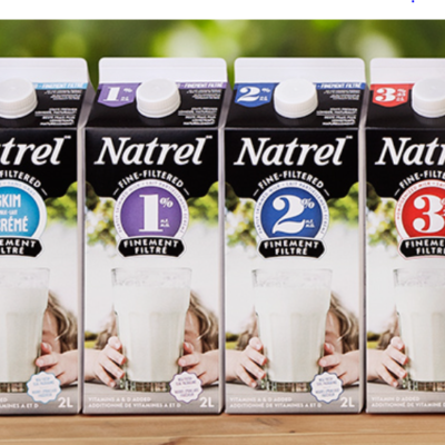 High-Value Natrel Lactose-Free Milk Coupon