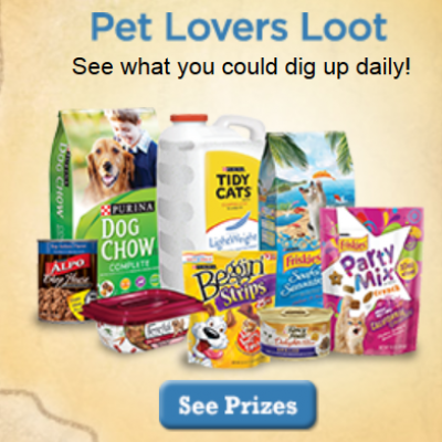 Purina Pet Lovers: Win Coupons For Free Products