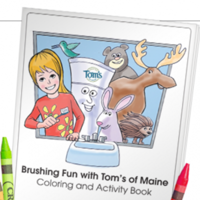 Tom's of Maine: Free Coloring Book