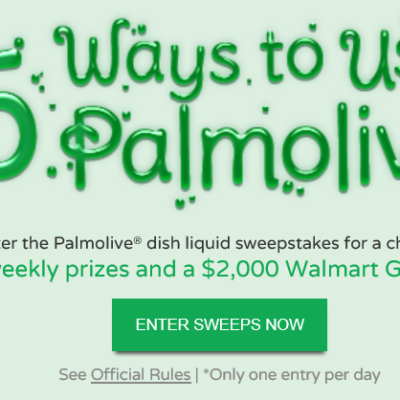 25 Ways To Use Palmolive Sweepstakes