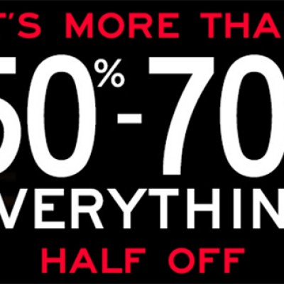 Aeropostale: 50% - 70% Off Select Styles