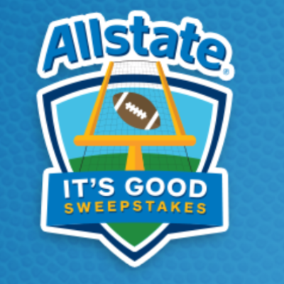 Allstate It's All Good Sweepstakes