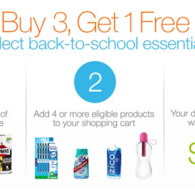 Amazon: Buy Three Back-to-School Essentials and Get One Free