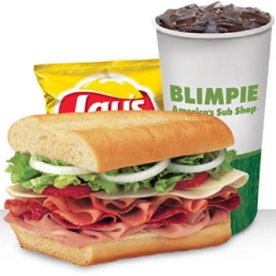 "Blimpie: Free 6"" Sub w/ Purchase"