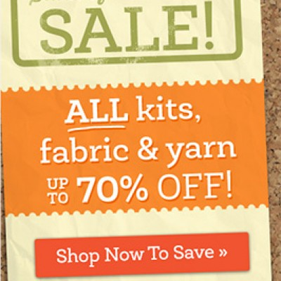 Craftsy: Stash Of Possibilities Sale Up To 70% Off