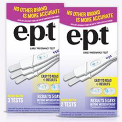Hot! E.P.T. Pregnancy Test Coupon