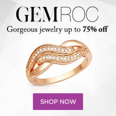 GemRock: $20 Off A $20 Purchase + Free Shipping
