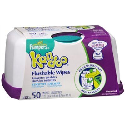 Kandoo Flushable Wipes Coupon