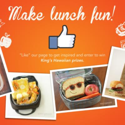 Kings Hawaiian Lunchbox Fun Sweeps