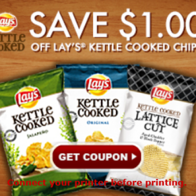 Lay's Kettle Cooked Chips Coupon
