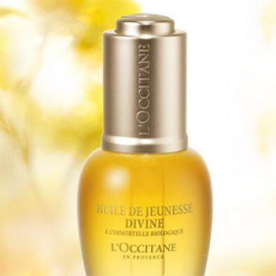 Free L'Occitane Divine Youth Oil Samples
