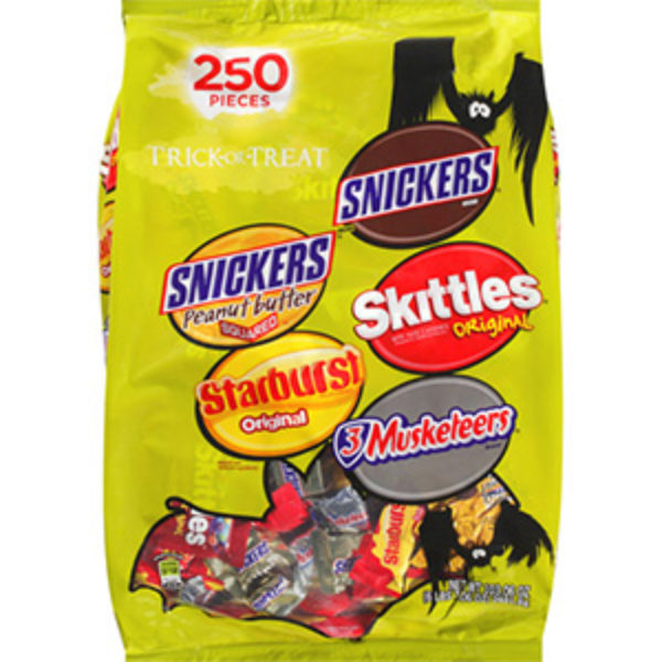 Buy 2 Mars Candy Variety Bags Get 1 Snickers Fun-Size Bag Free