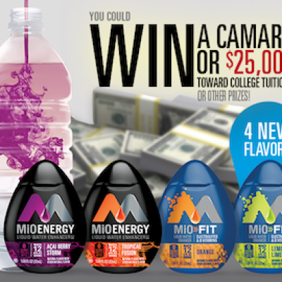 Mio Full Ride Giveaway