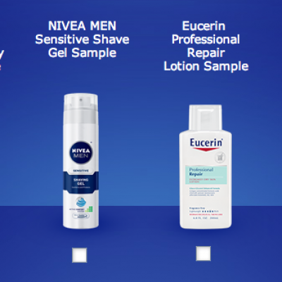 Free Sample of Nivea, Eucerin or Aquaphor