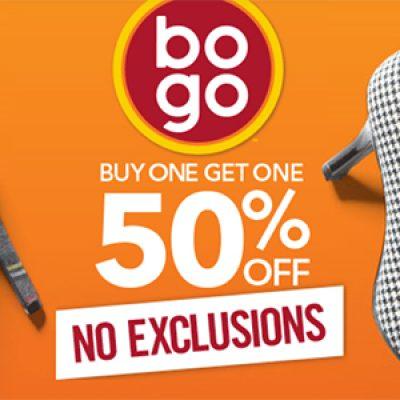 Payless: BOGO 50% Off + 20% Off Code