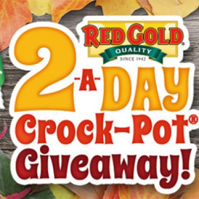 Red Gold 2-A-Day Crock Pot Giveaway