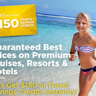 Sears Vacations: $150 Free Travel Credit