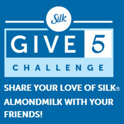 Silk Give 5 Challenge: Give a Friend Free Silk & Chance To Win $500