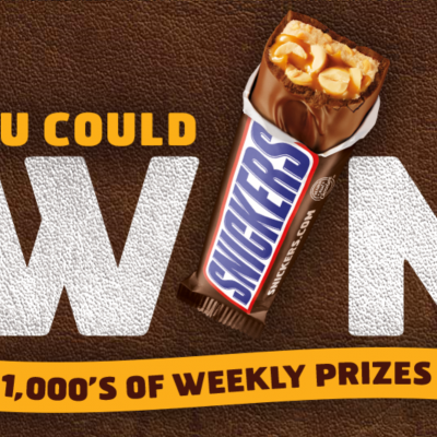 Snickers NFL Game Day: Win 1,000's Of Prizes Weekly