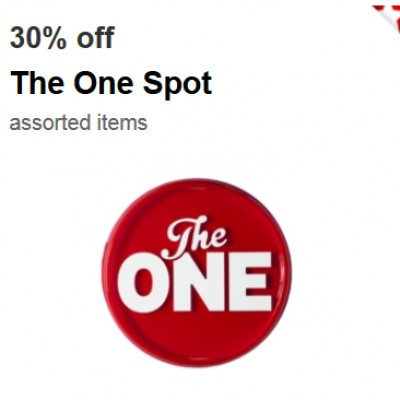 Target: 30% Off The One Spot