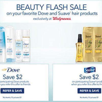 Walgreens: Beauty Flash Sale