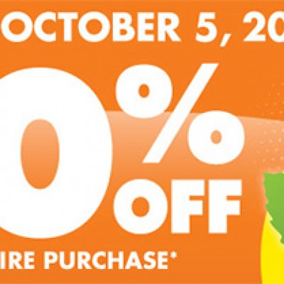 Big Lots: 20% Off Entire Purchase - October 5th Only