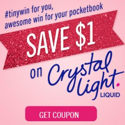 Crystal Light Liquid $1.00 Off Coupon