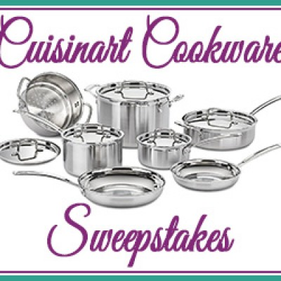 Granny's Giveaways: Win A Cuisinart MultiClad Pro Cookware Set