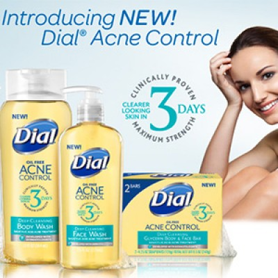 Free Dial Acne Control Face & Body Wash Samples