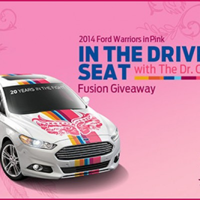 Dr. Oz Show: Win A Ford Fusion