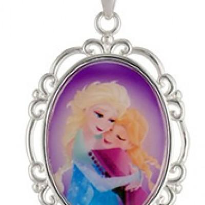 Disney Frozen Anna & Elsa Pendant Only $12.00 + Free Shipping