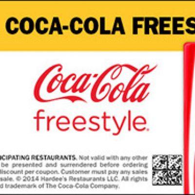 Hardee's: Free Small Coca-Cola Freestyle
