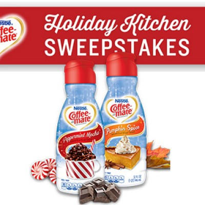 Nestle Coffee-Mate & Martha Stewart Holiday Kitchen Sweepstakes