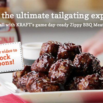 Kraft Coupons & Tailgating Recipes