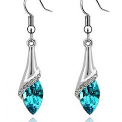 Marquise Cut Teardrop Earrings Just $2.67 Plus Free Shipping