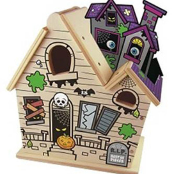 Lowe's Build N Grow Clinic: Free Haunted House - Today