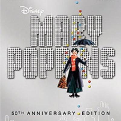 Mary Poppins 50th Anniversary DVD Just $14.96 (Reg. $29.99)