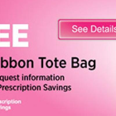 AAA Members: Free Pink Ribbon Tote Bag